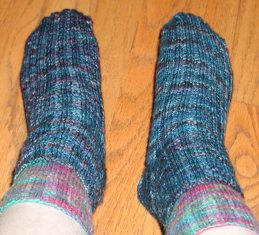 Fleece Artist Socks